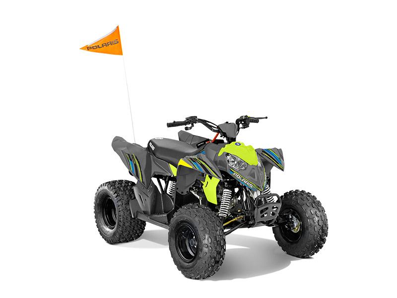 ATV til boern Polaris Outlaw 110 cc med benzinmotor Lime