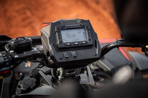 LCD Display på Polaris Scrambler XP 1000 S