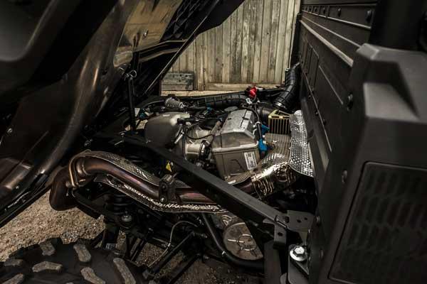 Motor på UTV Ranger 1000 fra Polaris