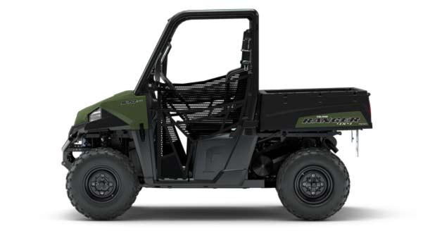 Ranger 570 Traktor. UTV med traktor plader.