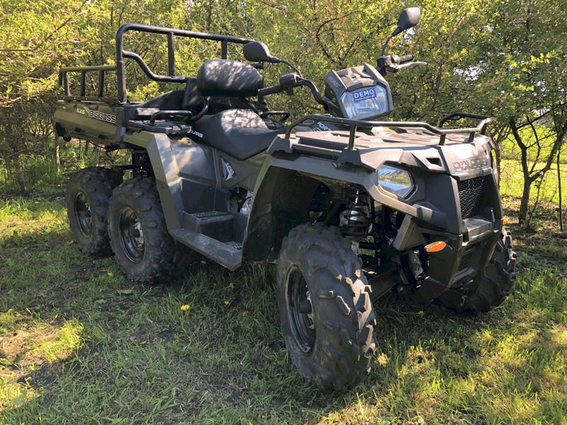 Polaris Big Boss ATV med 6x6 hjulstræk
