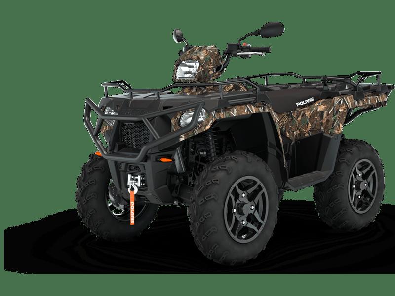 Polaris sportsman 570 cc ATV i camoflage farve
