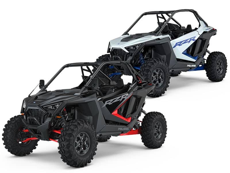 Off roader Polaris RZR XP Pro. Farver sort eller hvid