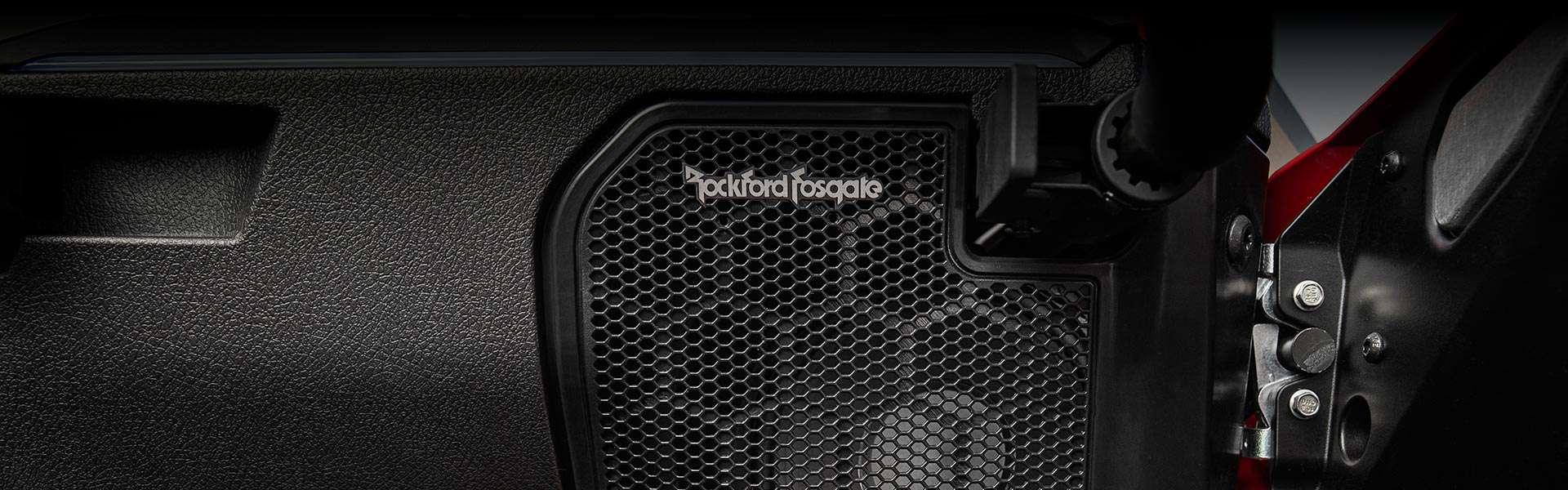 Rockford fosgate lydanlæg i RZR Pro Ultimate