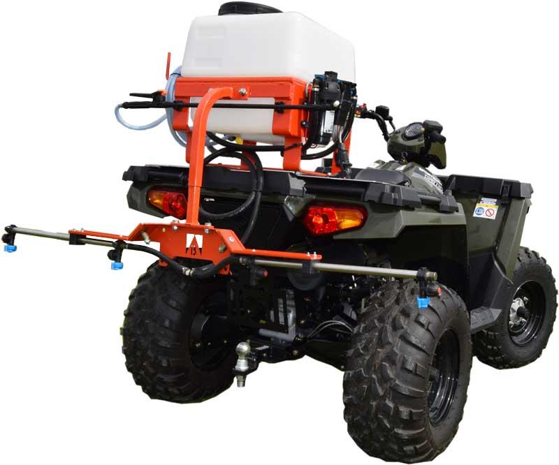 ATV med 50 L Kuhn sproejte hoej kvalitet lang levetid