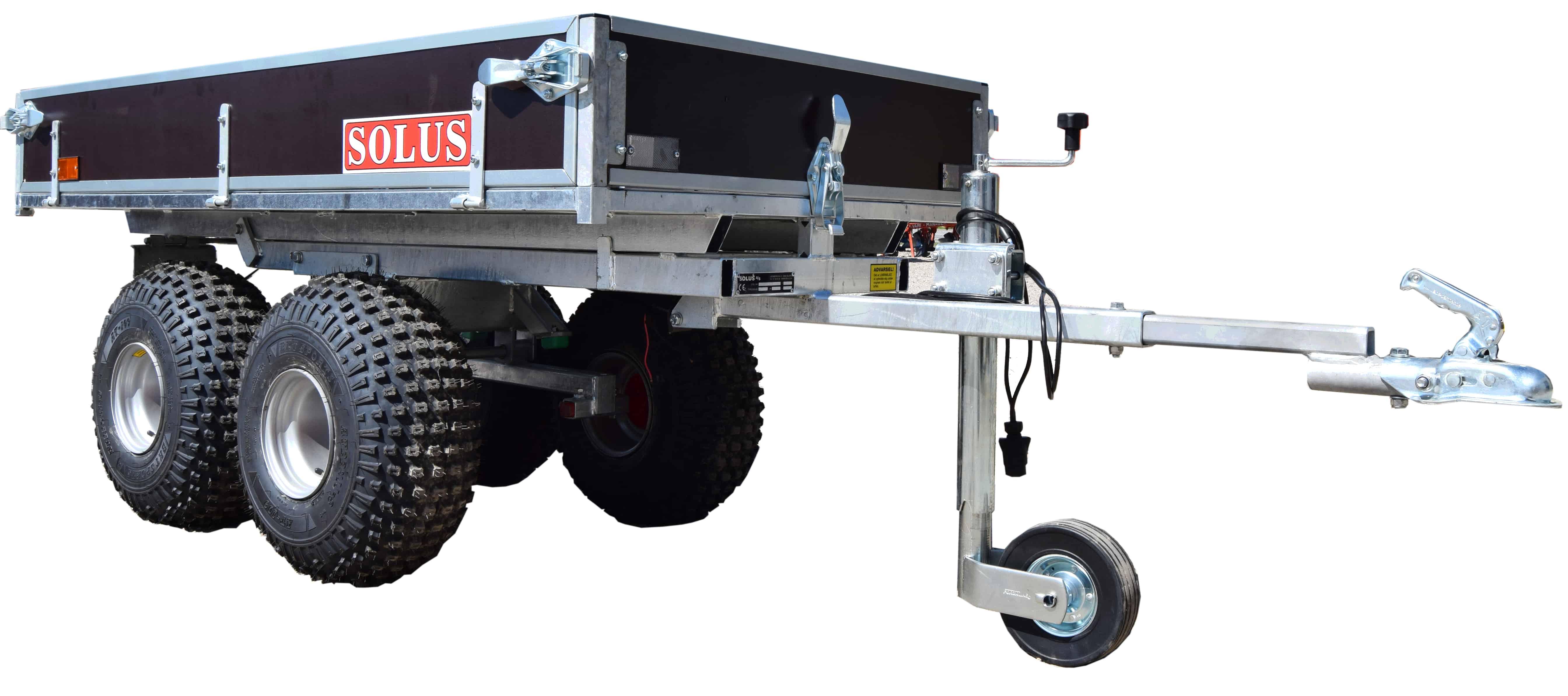 Kraftig og stabil ATV vogn som følger dig over alt