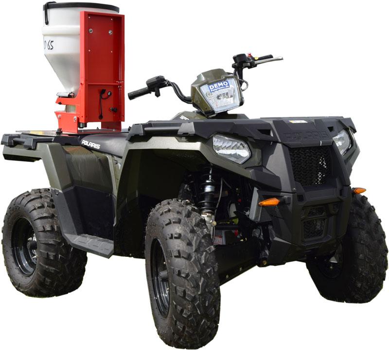 Fan Jet universalspreder på Polaris ATV