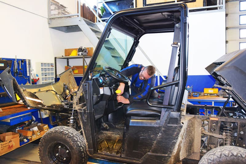 ATV serviceværksted i Danmark. Hurtig levering af reservedele