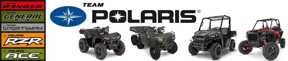 Team Polaris ATV UTV og EL-biler. Off road køretøjer i høj kvalitet.
