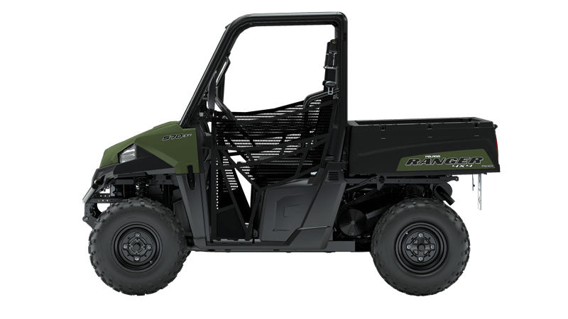 Polaris kraftige Ranger UTV bil. En kraftig, terrængående maskine med rigtig god affjedring. ATV forhandler
