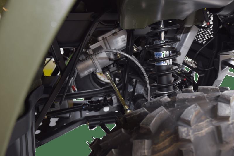 Polaris ATV og UTV maskiner har en ekstrem god stødabsorbering.