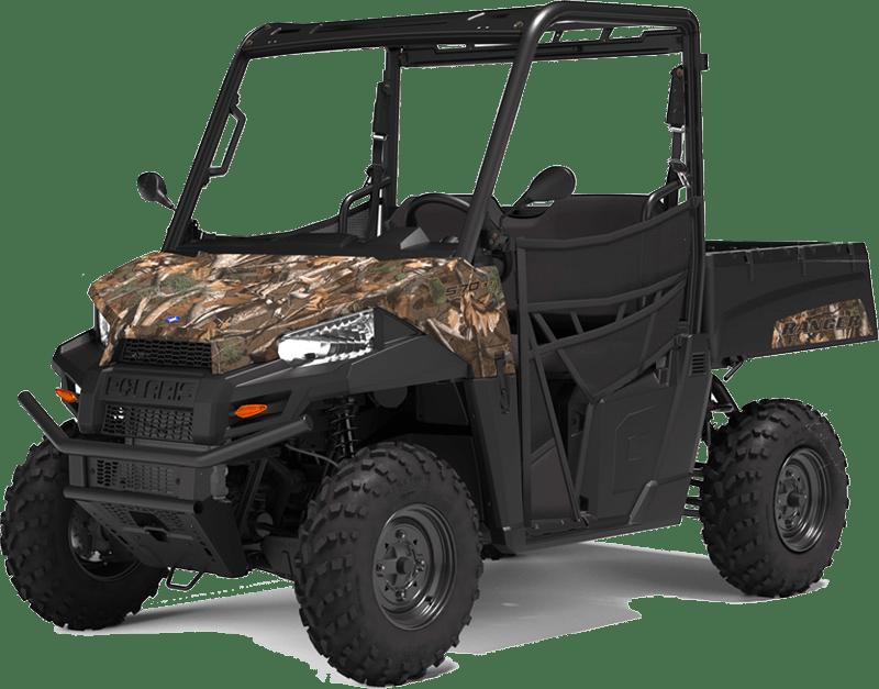 UTV Ranger i camoflage farvet model. 570 cc. Polaris UTV