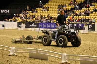 Polaris 570 X2 ATV med ridebaneplaner fra Chapman til World Cup i Herning
