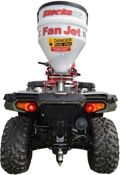 Fanjet universalspreder til ATV og smalsportstraktorer mm.