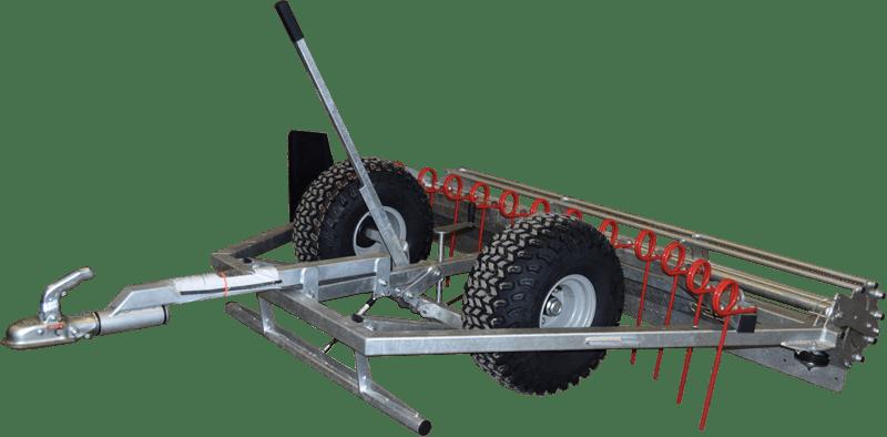 Ridebaneplaner til ATV og minimaskiner. Chapman MG 250 RR
