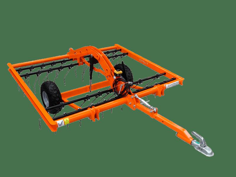 Fritlagt billede af orange Chapman TH200 ATV strigle