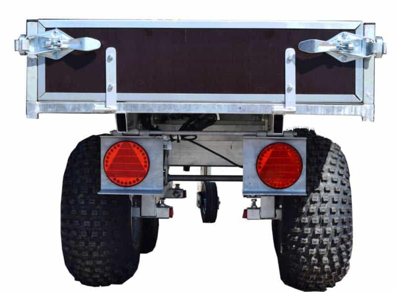 ATV vogn til ATV og minimaskiner. Kvalitetsvogn med mange gode brugsfunktioner.