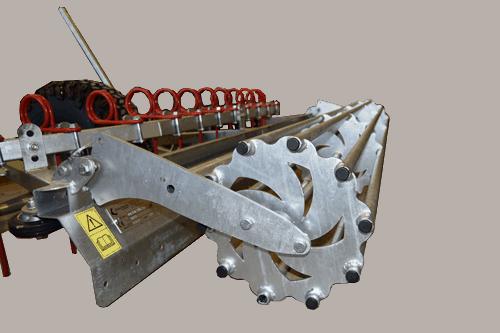 Kvalitets stangvalse til Chapmands ridebaneplaner som passer på ATV eller små traktorer.