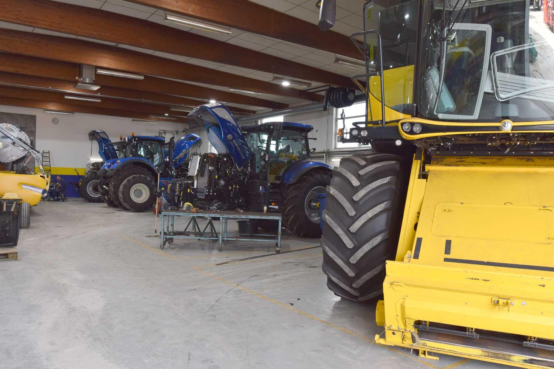 Værksted_NewHolland_traktorer